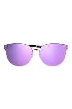 Mirrored-lens sunglasses - Purple - Ladies | H&M CN 2